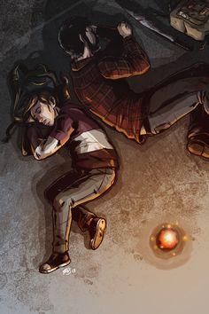 Ellie and Joel by ScaryKrystal.deviantart.com on @deviantART