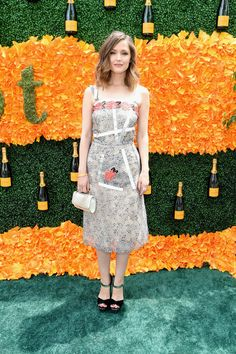 Rose Byrne attends the Ninth Annual Veuve Clicquot Polo Classic at Liberty State Park on June 4, 2016