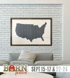 Beautiful wall map decor (10/01/2017) {US} via... sweepstakes IFTTT reddit giveaways freebies contests