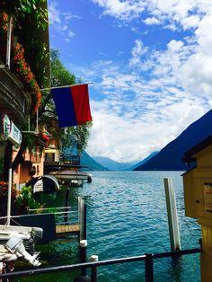 Gandria, Switzerland on Lake Lugano
