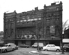 Hackney Empire, Mare Street in the 1960s when in use as ATV studios.