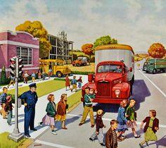 Ad from Mack trucks (1955)