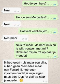 10 Grappige WhatsApp Gesprekken