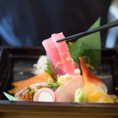 The Dos and Don'ts of Sushi Don't eat shasumi with chopsticks