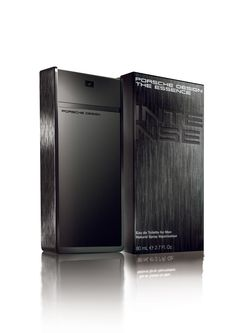 Porsche Design The Essence Intense Cool Packaging, Packaging Design, Perfume, Porsche Design, Driving Shoes, Sprays, Locker Storage, Product Launch, Luxury