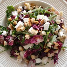 Rote Bete-Bohnen-Feta-Salat