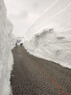 St. Gotthard Pass in Ticino, Switzerland -