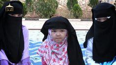 Cute kids in niqab n hijab