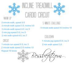 Incline Treadmill Cardio Circuit