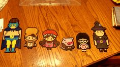 Gravity Falls Summerween episode perler beads by poke-sugar