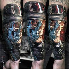 Skull Rider   Best tattoo ideas & designs