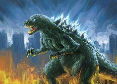 Godzilla 2008 by alvinwcy.deviantart.com on @DeviantArt