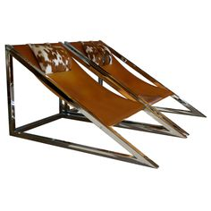 """Pair of """"Mies"""" Lounge Chairs by Archizoom Associati Italy explore items from 1,700  global dealers at 1stdibs.com"""