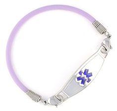 Medical ID bracelet Lupus..I need one of these! #lupus #purple #medicalbracelet