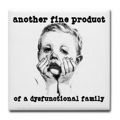 dysfunctional family   dysfunctional_family_tile_coaster