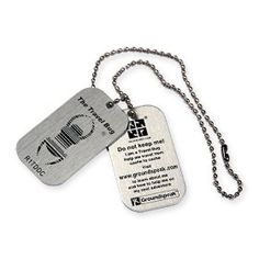 Travel Bug Tag