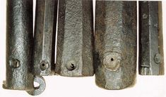 Ethnographic Arms & Armour - 15th century short wrought iron barrels - why there are so many around