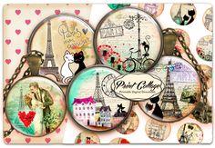 PrintCollage Published by Etsy · 23 mins ·  Now is the best time to visit Paris :D with #PrintCollage  #Panam #PrintableImages #CraftsImages #Paris #VorlagenCabochon #BottleCapImages #ScrapbookPages #JewelrySupplies #PendantImages #Decoupage #CabochonBilder  #Magnets #CabochonParis #Printable  #Textile #CabochonImages #DigitalDownload #TShirts #RoundImages #DigitalCircle