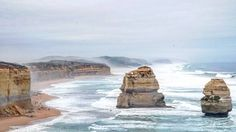 #twelveapostles #greatoceanroad #australia #trip4frenchies #roadtrip #awesome #landscape #sony #sonyalpha #cliff #beach by cosq_r