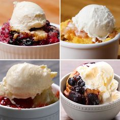 6 Insanely Easy Fruit Cobblers by Tasty