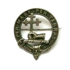 Clan donald antique macdonald vintage scottish clan glengarry badge for sale