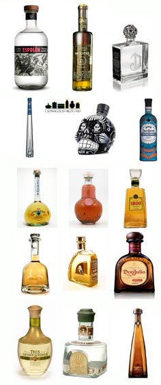 tequila bottles!