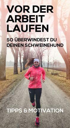 Mit diesen Tipps und Tricks wirst du deinen Schweinehund überwinden und es schaffen am Morgen Sport zu machen. Direkt morgens laufen macht dich nicht nur wach und bringt den Kreislauf in Schwung, sondern du startest auch gleich frisch in den Tag. Joggen am Morgen kann jeder und zwar mit den besten Tipps für deinen Morgenlauf. #joggen #abnehmendurchlaufen #laufen
