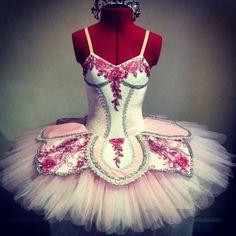 Sew classical tutu's in Australia made this fabulous pink creation #ballet #tutu