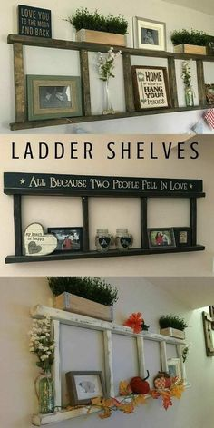 Handmade Home Decor Cool 45 Best Ways To Decorate Your Home With Unexpected Handmade Wall Decor. Diy Home Decor Rustic, Handmade Home Decor, Country Decor, Rustic Living Room Decor, Rustic Wall Decor, Diy Home Decor On A Budget Living Room, Dyi Wall Decor, Living Room Wall Ideas, Living Room Crafts