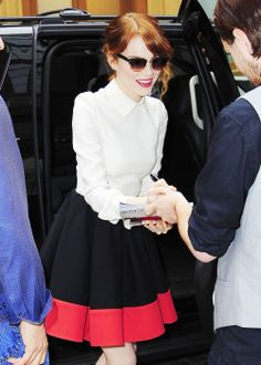 Emma Stone - style