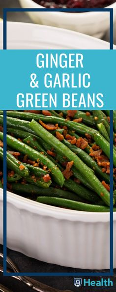 Need a delicious side but don't have a lot of time? This three-step green bean dish is here to save the day. Use the salt for the water but it won't need to touch the dish. Superfoods, garlic and ginger, add a lot of flavors while also being great sources of magnesium, vitamins, calcium and selenium.