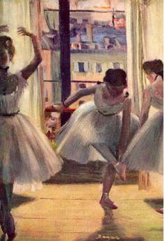 """""""Edward Degas"""" is what the previous pinner said. what an idiot!!!!!! EDGAR. EDGAR."""