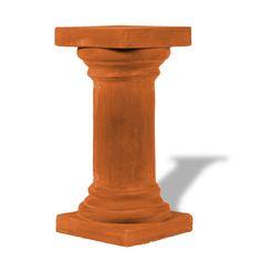 ResinStone Doric Columns Smooth Pedestal