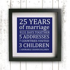 Printable Parent's Wedding Anniversary Gift  by GotPaperDesigns, $7.95