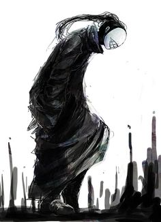 Tokyo Ghoul | Noro. wonder if we'll ever see his face. or she, you never know.