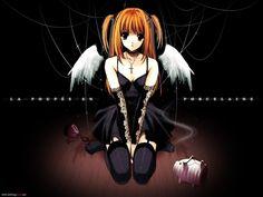 Death Note Kira   uno de los death note llego a manos de amane misa, actris, casi devota ...