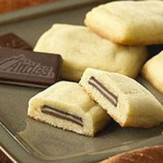 Andes Mint Pillow Cookies- I think I've died and gone to Heaven...