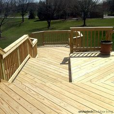 When it comes to pricing a deck, compare apples-to-apples.  If your contractor is suggesting a 'wood' deck find out the specific type of wood because prices will vary greatly between PT lumber, natural cedar, wood composite and hardwood. | How To Hire A Deck Building Contractor