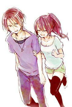 Rin and kou siblings