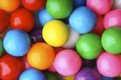 Colourful gum balls will definitely add #ColourToLife