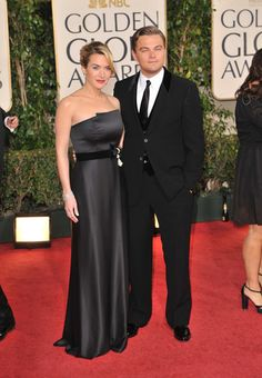 Leonardo DiCaprio and Kate Winslet. Okay guys, you can get married any time...