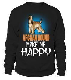 Afghan Hound Hund machen mich glücklich