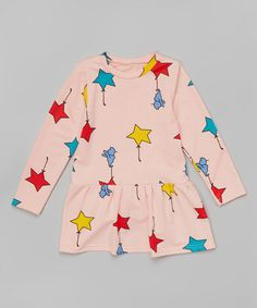 Loving this Pink Star Dress - Toddler & Girls on #zulily! #zulilyfinds
