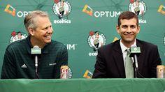 Celtics give extensions to Danny Ainge, Brad Stevens