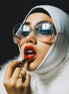 Isamaya Ffrench for YSL beauty Ysl Beauty, Beauty Shots, Fashion Beauty, Beauty Photography, Portrait Photography, Fashion Photography, Beauty Editorial, Editorial Fashion, Mode Editorials