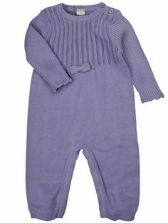 NEWBORN ELLA KNIT SUIT, Persian Violet, main