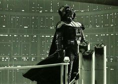 Darth Vader is burdened with glorious purpose.