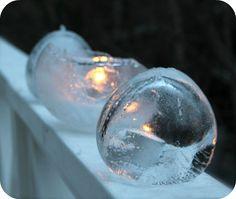 Iceballoon art