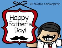 A father's day gift that he will never forget! These are simple but heartfelt gifts to send home for that special day.Includes:Father's Day book- students fill out responsesFather's Day writing page (boy and girl versions)- I love you because...Daddy acrosticMy Dad Interview formMy Dad- draw dad and color tie