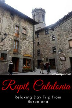 Rupit, Catalonia I Medieval I Village I Perfect Day Trip from Barcelona I What to do & see in Rupit I Great Walks and Hikes I #Rupit #Barcelona #Daytrips #Catalonia #Spain